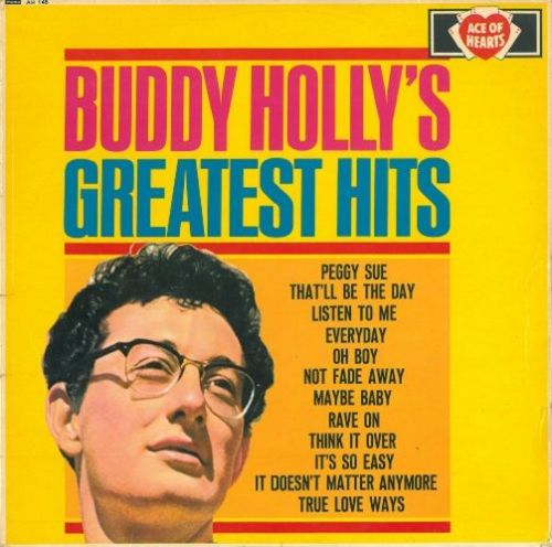 BUDDY HOLLY Greatest Hits Vinyl Record LP Ace Of Hearts 1967